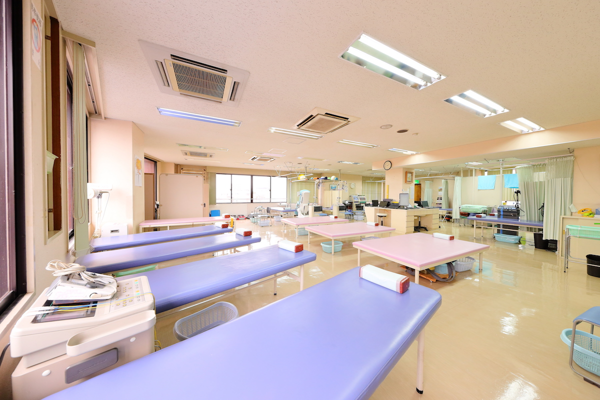 やまが整形外科 リハビリテーションルーム